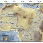 衛星により大昔にサハラ砂漠を流れていた川の跡が見つかる