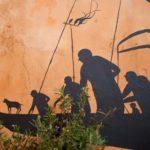【芸術】David De La Mano氏の新作!廃墟の壁に人を表現