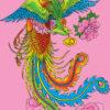 鳳凰:朱雀のモデルとなり火の中から甦るおめでたい神鳥