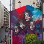 【芸術】C215氏の新作ストリートアート in パリ フランス
