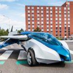 【割とガチで欲しい】道路を走れて空も飛べる空飛ぶ車が開発される。