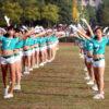 【構わん続けたまえ】中国の女子大生達がホットパンツを履いてラジオ体操を踊る