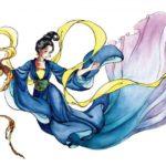 旱魃:干ばつの語原で日照りの女神の意味を持つ中国の美しい女神