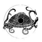 霊亀:四霊の一柱でおめでたくて長寿の象徴である亀