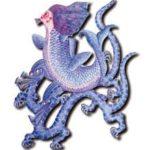 禺疆:海神であり風神でありさらに疫病を運ぶ瘟神でもある人面鳥身の神様