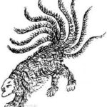 天神陸吾:高い霊力を持つ人面虎で天の九部を司る崑崙山の守護神