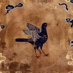 三足鳥:太陽の中に住んで大空を自由に飛び回った神鳥