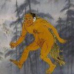 猩々:過去を知り人の名を知り匍匐前進で進む猿のような怪物