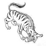 中国神話の奇妙な虎の怪物を集めてみた。怪虎特集1(彘、羅羅、倒寿)