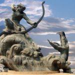 后羿:太陽を射落とした中国神話最大の英雄で月の女神となる嫦娥の夫