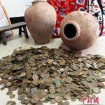 中国でお宝発見!建設現場から清朝時代の古銭が大量に発見される in 四川省