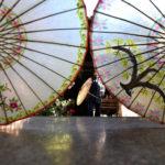中国伝統の油紙傘をかたくなに守り続ける老人の生活 中国 雲南省