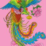鳳凰:古来より中国で深く信仰されてきた神話中の縁起の良い神鳥