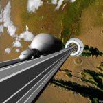 【宇宙】宇宙エレベーターが2050年までに実用可能になるかも?ゼネコンの大林組が作成プランを発表