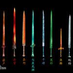 古代中国十大神剣:中国の伝説の聖剣、名剣を集めてみた