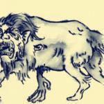 狍鴞:四凶の饕餮とも言われている人を食べる恐ろしい悪獣